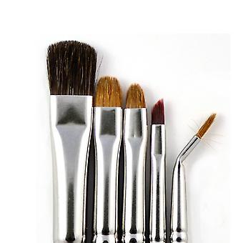 Pędzel do makijażu zestaw klasyczny wygląd 4808