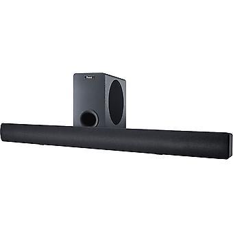 Magnat SB 180, soundbar home theater completamente attivo con subwoofer e Bluetooth®