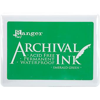 Ranger Archival Ink Jumbo Ink Pad #3 - Emerald Green