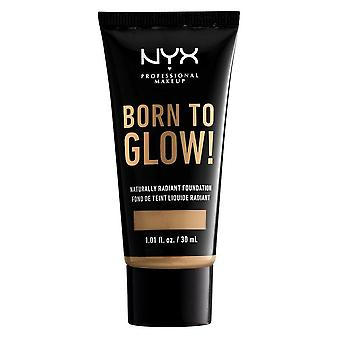 NYX Born To Glow Naturally Radiant Foundation 30ml - Beige