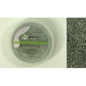 CraftEmotions Foamball clay - grey 75ml - 23gr Air dry