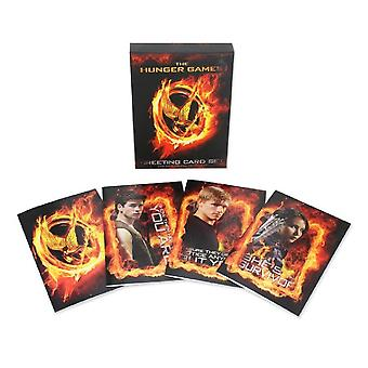 Hunger Games Girl On Fire Greetings Cards (Set of 20)
