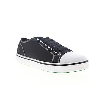 Emeril Lagasse Canal Canvas Mens Black Wide 2E Lace Up Low Top Sneakers Shoes