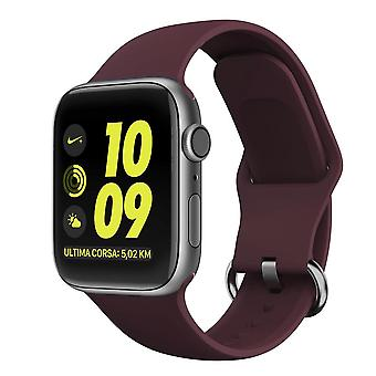 Apple Watch βραχιόλι σιλικόνης 38/40 - Σκούρο Κόκκινο
