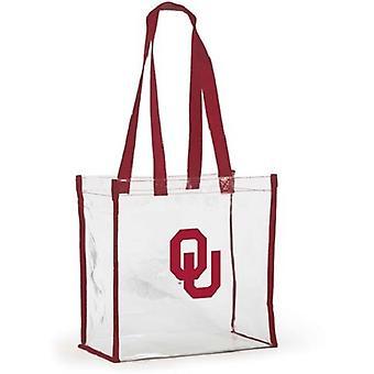 Oklahoma Sooners NCAA Clear Stadium Tote Bag