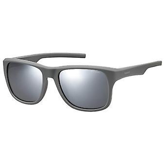 Polaroid PLD3019/S 31M/JB Grey/Polarised Grey-Silver Mirror Sunglasses