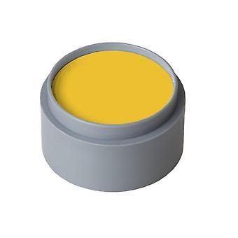 Make-up und Wimpern Wasser Make-up reines Gelb-orange