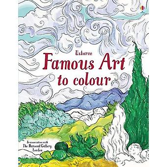 Famous Art to Colour by Susan Meredith - 9781474922616 Book