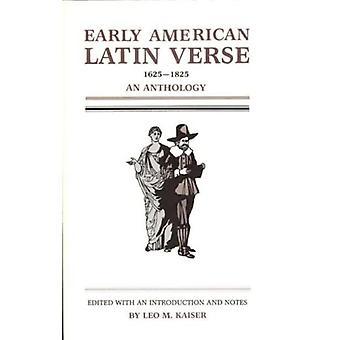 Early American Latin verse, 1625-1825