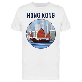 Hong Kong Harbour Tee Men's -Kuva Shutterstock