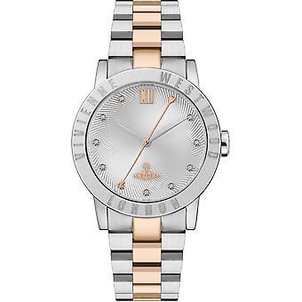 Vivienne Westwood Watches Vv213slrs Warwick Rose Gold & Silver Stainless Steel Ladies Watch