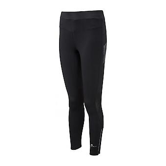 Ronhill Stride Stretch Womens Breathable Running Tights All Black