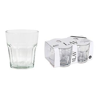 Sada brýlí LAV Aras 325 ml Crystal (4 Uds)/270 g - ø 8,5 x 9,5 cm