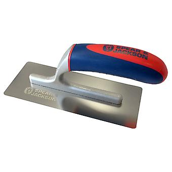 Spear and Jackson 10613CSF/14 13 Inch Carbon Plastering Trowel Soft Handle