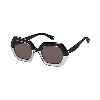 Max & Co. MAX&CO.331/S Black and Grey Ladies Sunglasses - Black and Grey