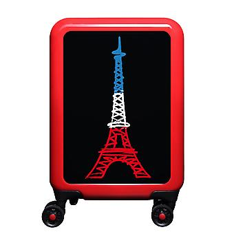 myTrolley Paris S, 4 rolls, 55 cm, 32 L, red
