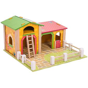 Le Toy Van Traditional Toys Le Barnyard