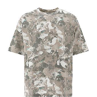 Marcelo Burlon Cmaa054e20jer0076143 Men's Camouflage Cotton T-shirt