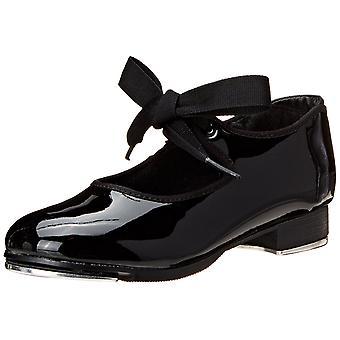 Kids Capezio Girls Jr. Tyette Low Top Lace Up Dance Shoes