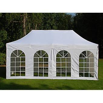 Pop up gazebo FleXtents Steel 3x6 m White, incl. 4 sidewalls
