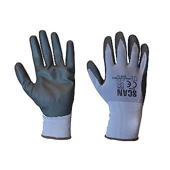 Scan Breathable Microfoam Nitrile Gloves - Extra Large (Size 10)