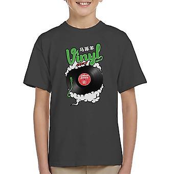 London Banter Vinyl Süchtigen Kid's T-Shirt