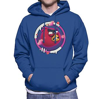 Angry Birds Red 3D Insignia Hombres's Sudadera con capucha