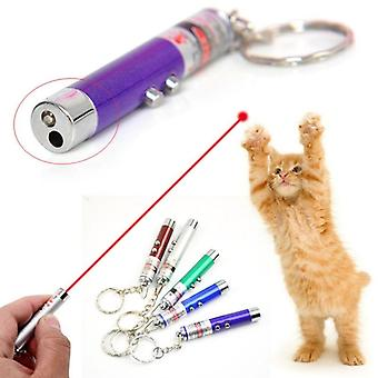 Divertente pet led laser light toy, red dot pointer interactive pen per gatti