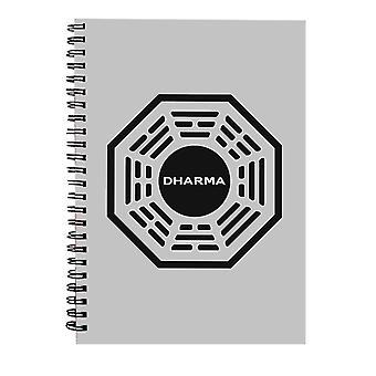 Dharma Initiative Logo Mistet Spiral Notebook