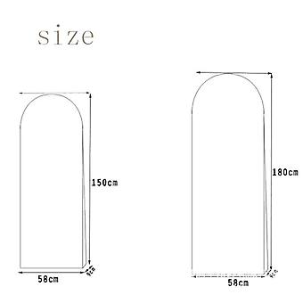Dress Bags Protector Case - Dustproof Cover for Wedding Dresses  Bridal Gown  Long Clothes