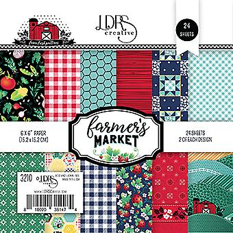 LDRS Creative Farmers Market 6x6 Inch Paper Pack