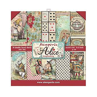Alice 8x8 Inch Paper Pack (SBBS01)