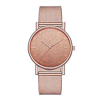 HEZHUKEJI Watch Quartz Ladies - Luxury Anologue Movement for Women Rose Gold