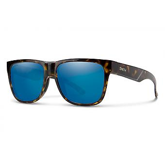 Sonnenbrille Unisex Lowdown 2 n   braun gelb havanna / blau