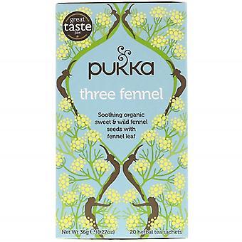 פוקה אורגני שלושה שומר תה צמחים