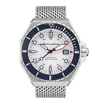 Spinnaker SP-5081-33 Gent's Dumas White Dial Wristwatch