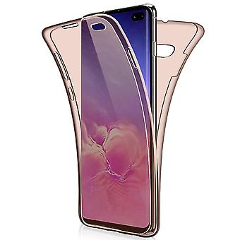 TPU Mobile Shell voor Samsung Galaxy S10 Phone Clear Siliconen Mobile Shell Rose Gold