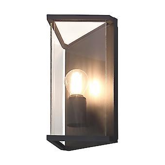 Mantra inspirado - Meribel - Lámpara de pared 1 x E27, IP54, grafito