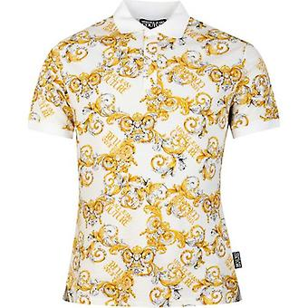 Versace Jeans Couture Baroque Print Polo