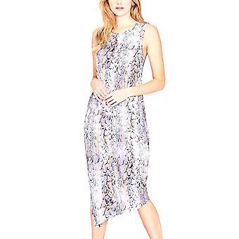 RACHEL Rachel Roy Reposición impreso Drape Back Dress