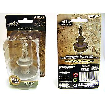 Dungeons & Dragons Wizkids Deep Cuts Unpainted Miniatures Fountain (Pack of 6)