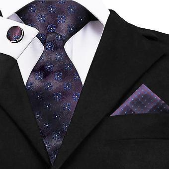Warwick & Vance Formelle Neck Tie, Mouchoir & Boutons de manchettes Ensembles de boîtes-cadeaux de luxe
