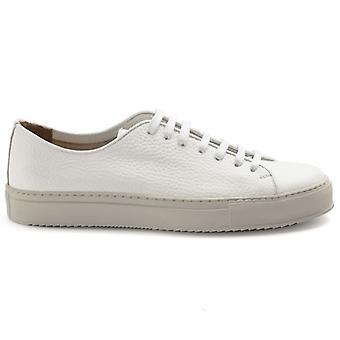 Men's Jerold Wilton White Leather Sneakers