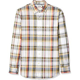 Marke - Goodthreads Men's Standard-Fit Long-Sleeve Lightweight Madras ...