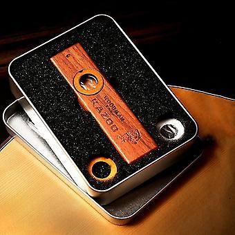Wooden Kazoo Orff Instruments Ukulele Guitar Partner, Woodman Harmonica