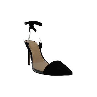 INC International Concepts Womens Kaijaf Suede Pointed Toe Ankle Strap Classic Pumps