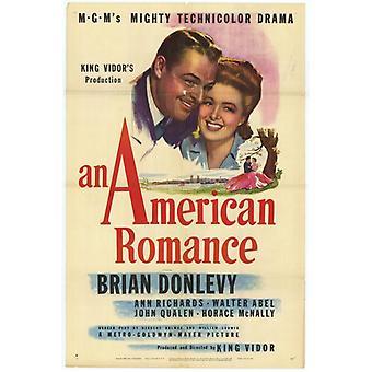 Ein amerikanischer Romantik Film-Poster (11 x 17)