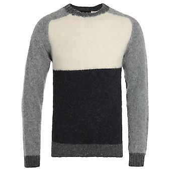 Howlin Firecracker Colour Block Cream Sweater