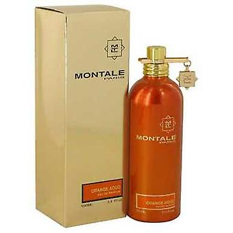Montale Orange Aoud By Montale Eau De Parfum Spray (unisex) 3.4 Oz (naiset) V728-540149