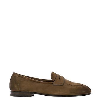 Fabi Fu9790 Men's Brown Suede Loafers